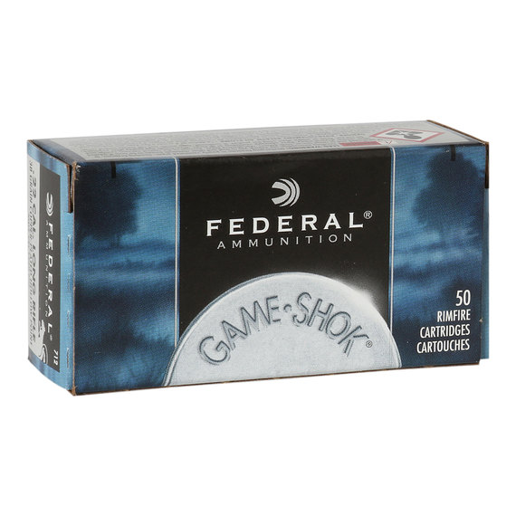 Game-Shok .22LR Ammo - 50 Rounds
