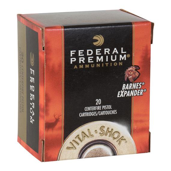 9a2720c31da5 Federal Vital-Shok Lead Free .357 Magnum Ammo