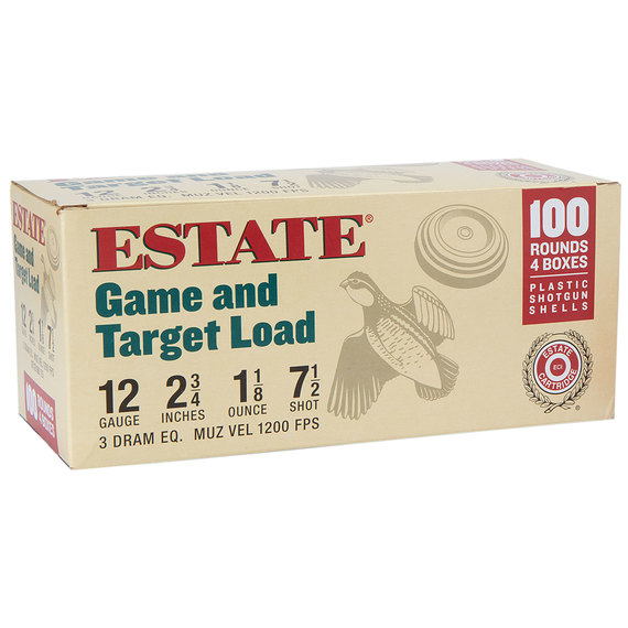 12 GA. Game and Target Loads - 100 Round Pack