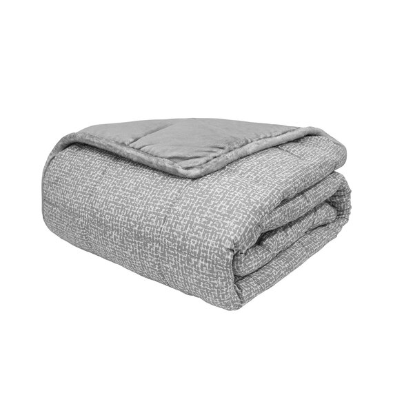 15-lb. Velvet Washable Weighted Blanket  - view 1