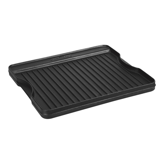 Reversible Pre-Seasoned Cast-Iron Grill/Griddle