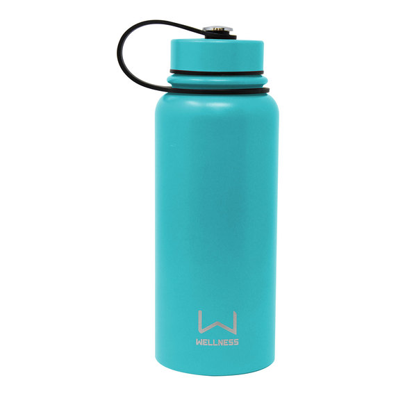 30-oz. Powder Coated Double-Wall Stainless Steel Bottle  - view 1