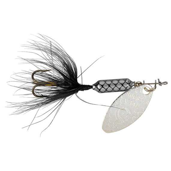 Original Rooster Tail Spinning Lure - 1/16 oz. Black