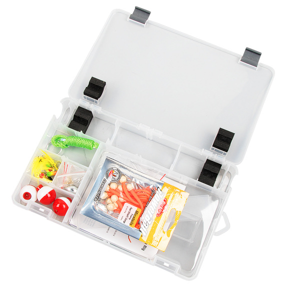 Catch More Fish Trout Utility Tackle Box Kit