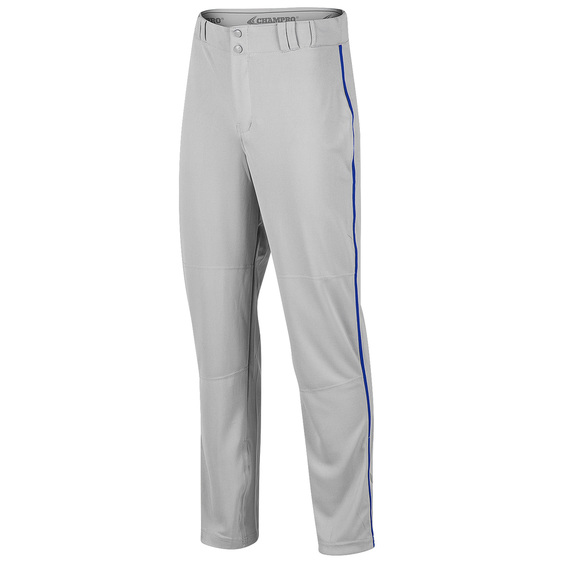 Triple Crown Adult Open-Bottom Piped Baseball Pants
