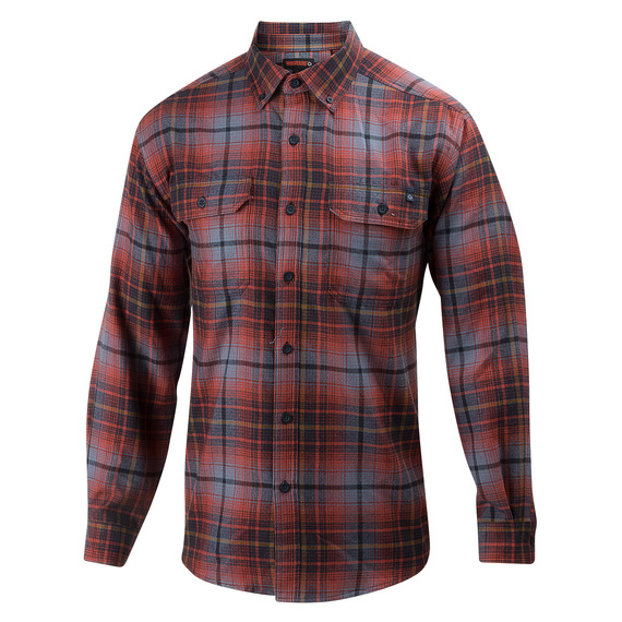 Men's Escape Long-Sleeve Flannel Shirt