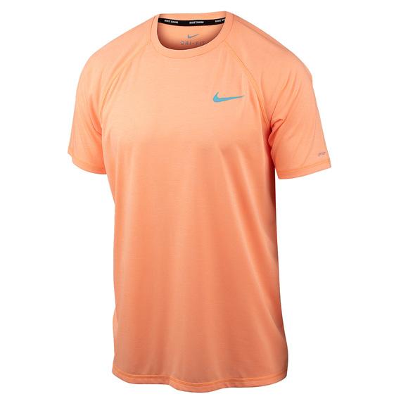 super popular bbc6e 38240 Men s Solid Short-Sleeve Hydroguard Swim Shirt