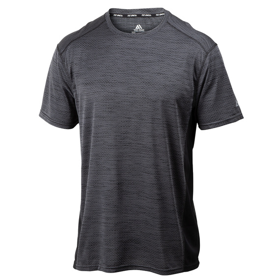 Men's Textured Space Dye Short-Sleeve Top