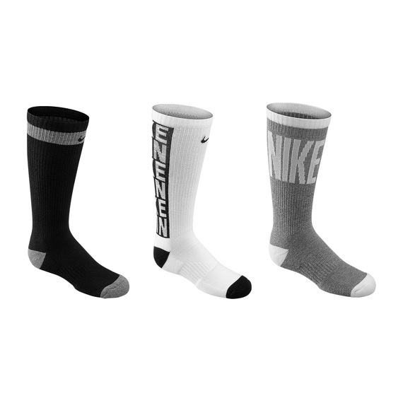 Youth's Everyday Cushioned Crew Socks - 6-Pack
