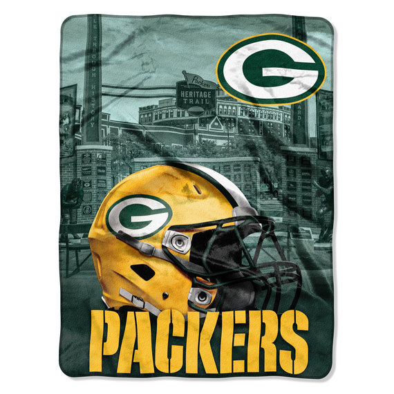 Official NFL Heritage Silk-Touch Throw Blanket
