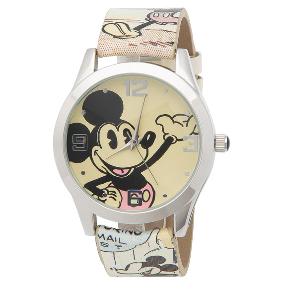 Mickey Mouse Authentic Comic Book Art Watch