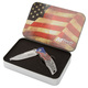 Stars and Stripes American Flag Knife thumbnail 1