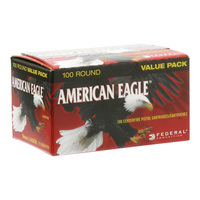 Federal American Eagle 9mm Luger 100-Round Value Pack