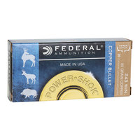 Federal Power-Shok Copper .243 Winchester Ammo