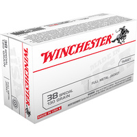 Winchester .38 Special Target Ammo