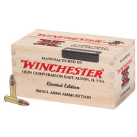 Winchester Limited Edition .22LR 500 Round Wood Box