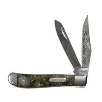 Schrade Imperial 2-Blade Trapper Knife with Gift Tin