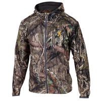 Browning Men's Wasatch Fleece Camo Full-Zip Hooded Jacket