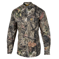 Browning Men's Wasatch Camo Button-Up Hunting Shirt