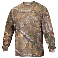 Walls Men's Long-Sleeve Camo Pocket Shirt