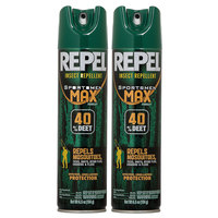 Repel Sportsmen Max 40% DEET Insect Repellent - 2-Pack