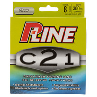 P-Line C21 300 Yd. Clear Copolymer Fishing Line