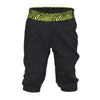 Soffe Girls' Printed Waistband T-Ball Pants