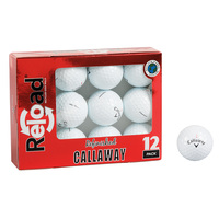PG Professional Golf Reload Callaway Recycled Golf Balls - 12 Golf Balls