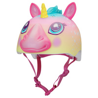 Raskullz Youth's Rainbow Unicorn Helmet