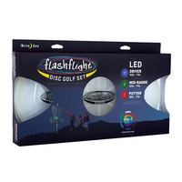 Nite Ize Flashflight LED Disc Golf Set