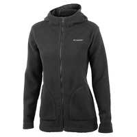 Columbia Women's Canyon Point Hooded Sherpa Full-Zip Jacket