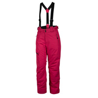 Planet Earth Girls' Technical Waterproof Insulated Suspender Snow Pants