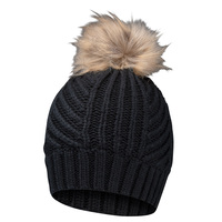 Chaos Tyler Fancy Stitch Knit Pom Beanie