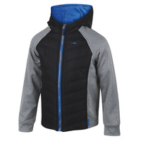 Pacific Trail Boys' Mixed Media Jacket with Performance Fleece
