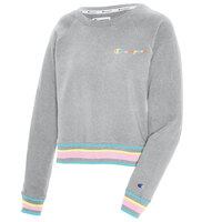 Champion Women's Campus French Terry Pullover Crew Sweatshirt