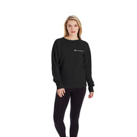 Champion Women's Powerblend Left Chest Crew