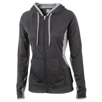 FILA Women's Tell All Downy Full-Zip Fleece Hoodie