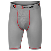 SAFETGARD Youth's Compression Shorts with Cage Cup