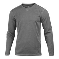 Russell Athletic Men's Box Mesh Long-Sleeve Crew
