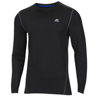 Russell Athletic Men's Long-Sleeve Fitted Not Tight Crew Top