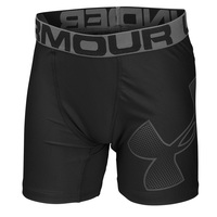 Under Armour Boys' HeatGear® Armour Fitted Shorts