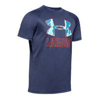 Under Armour Boys' Tech Hybrid Short-Sleeve Tee