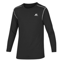 Russell Athletic Boys' Fitted Not Tight Long-Sleeve Crew