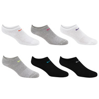Nike Women's Lightweight No-Show Training Socks - 6-Pack