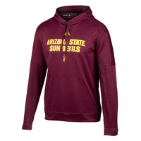 adidas NCAA Men's Arizona State Team Issue Pullover Hoodie