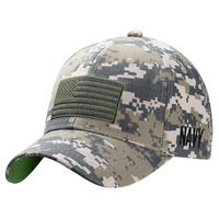 Icon Sports U.S. Military Digital Camo Operator Flag Adjustable Cap