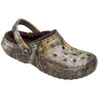 Crocs Classic Lined Youth's Realtree-Edge Clogs