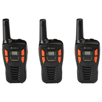 Cobra CXT195 16-Mile GMRS Two-Way Radios - 3-Pack