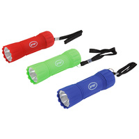 Performance Tool Multi-Color Composite LED Flashlight - 3-Pack