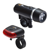 Via Velo L.E.D. Bike Light Combo